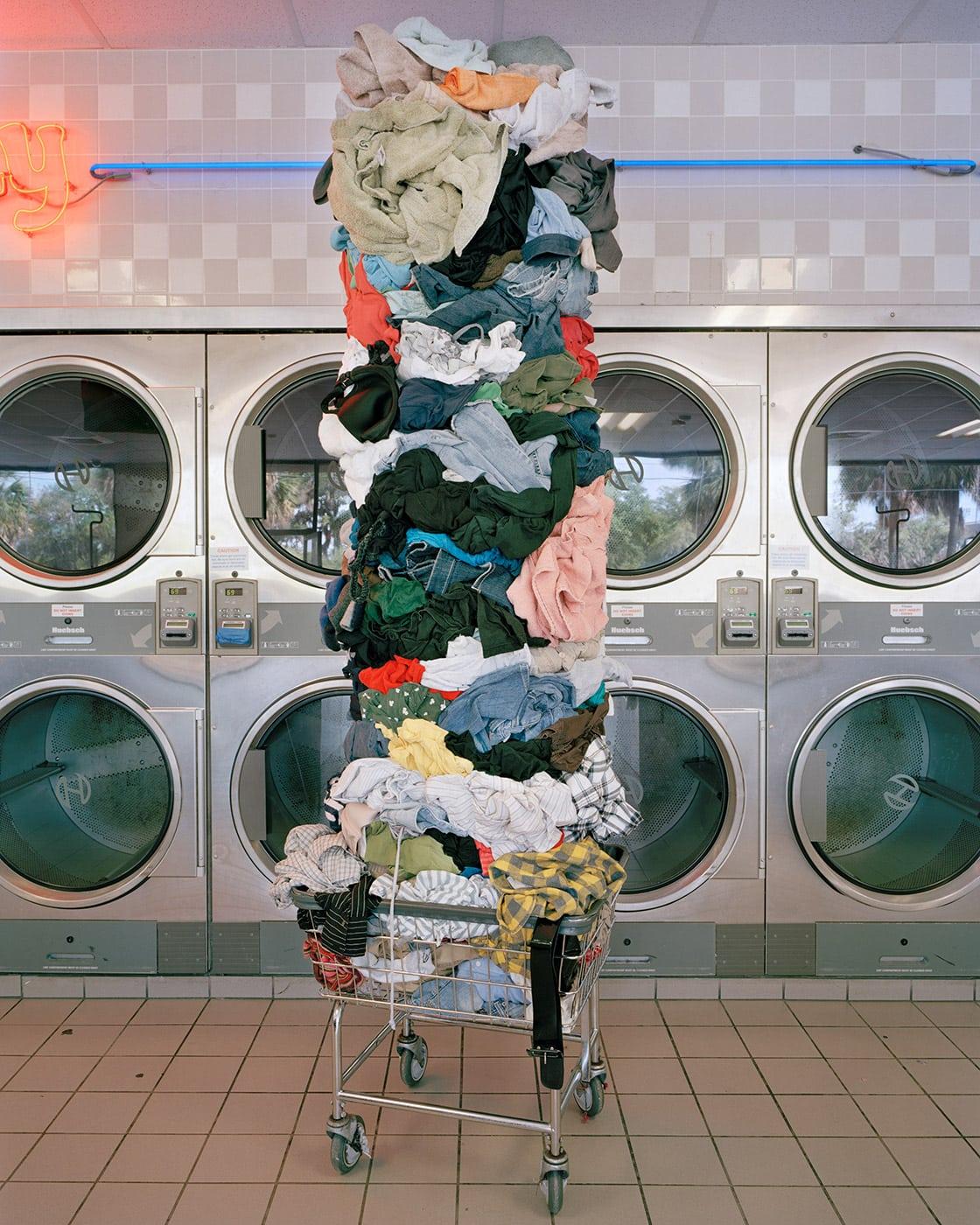 Laundry Totem, 2011