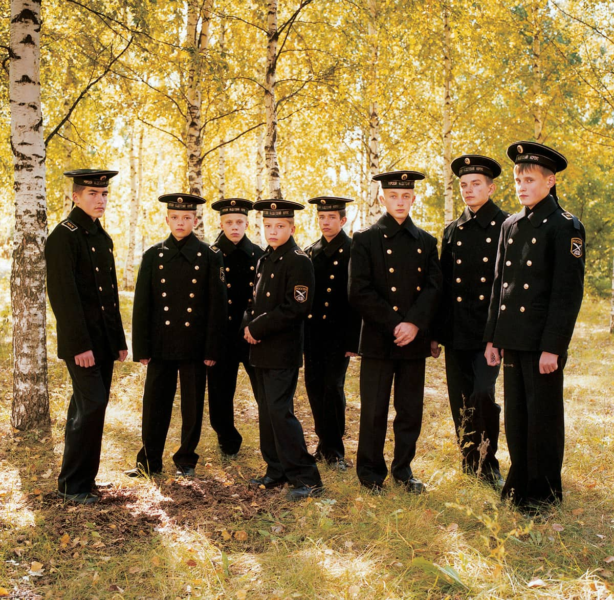 Young Cadets, Russia, 2004.