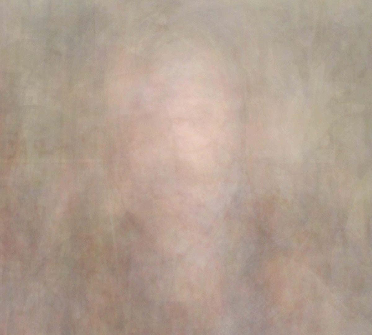 Self-Portrait. Print mounted on aluminum. 2016