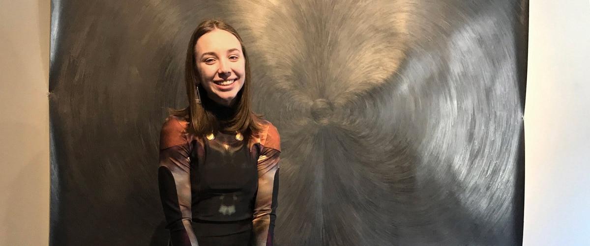Portrait of artist Rachel Burns